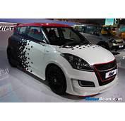 Maruti Displays Modified Swift Volt At 2014 Auto Expo  MotorBeam