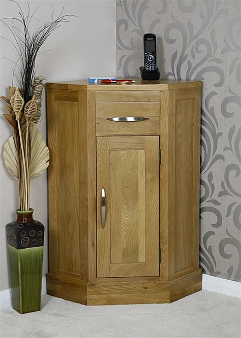 Kitchen Cabinet Brand Reviews by 50 Off Oak Corner Lamp Table With Cupboard Glenmore