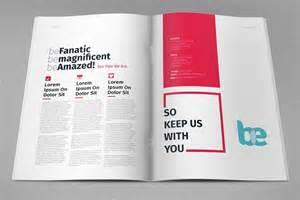 blank magazine template psd free magazine brochure print template psd titanui