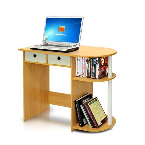 Define Desk by Llytech Inc Go Green Beech Computer Desk With Bin Drawer