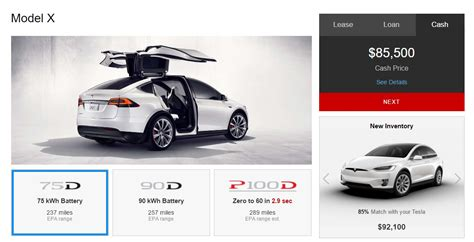 Base Price Tesla Model S Tesla Discontinues Base Model X 60d Before It Arrives