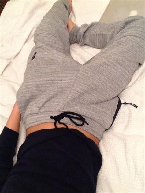 girls gray and black joggers pants nike sweatpants grey tumblr