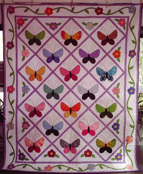 Free Baby Patchwork Quilt Patterns - 25 unique butterfly quilt pattern ideas on