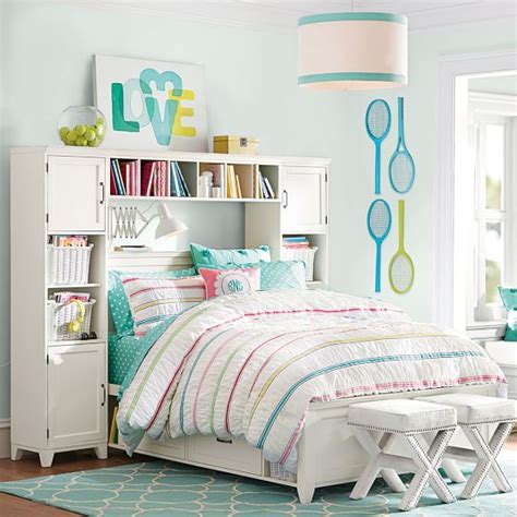 hton storage bed and bookcase tower set hton storage bed bookcase tower set pbteen