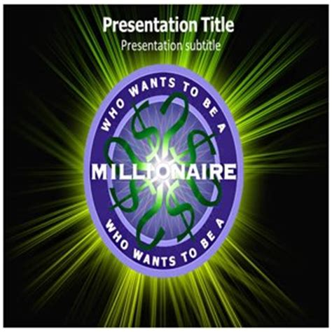 Amazon Com Who Wants To Be A Millionaire Powerpoint Templates Who Wants To Be A Millionaire Who Wants To Be A Millionaire Presentation Template