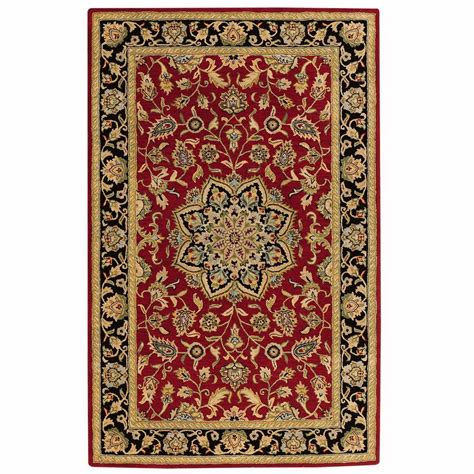 home decorator collection rugs home decorators collection earley red 6 ft x 9 ft area