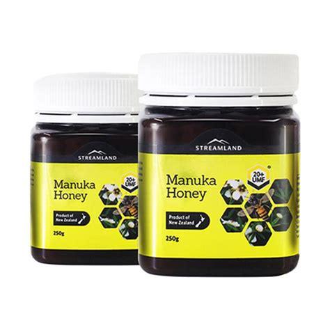 Madu Manuka Streamland Umf 20 250g jual streamland manuka honey umf 20 250 g harga kualitas terjamin blibli