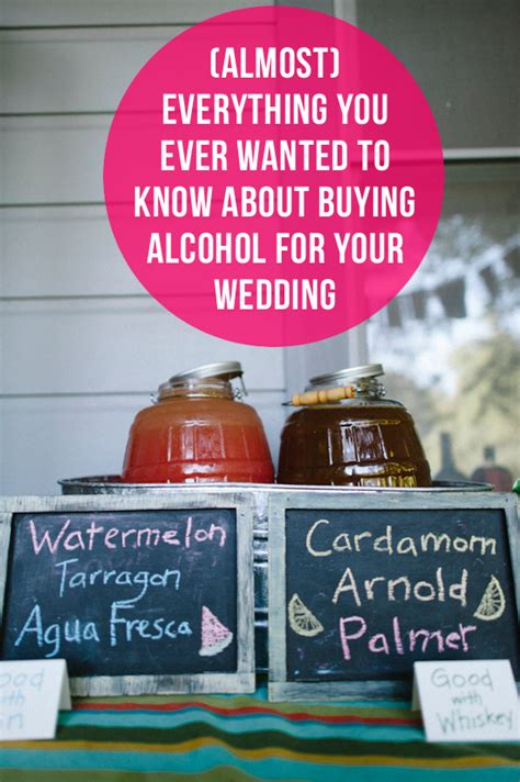 how much liquor to buy for a wedding almost everything you need to about buying