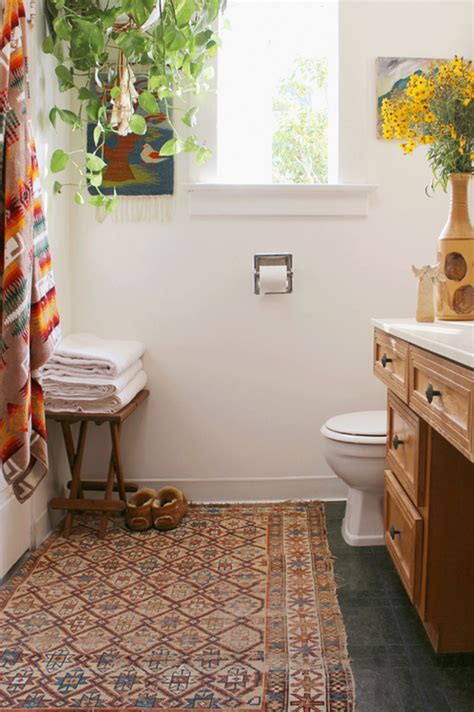 Rugs For The Bathroom Want To Try A Persian Rug In The Bathroom Miss Prints