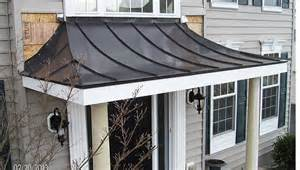 Metal Roof Awnings Metal Standing Seam Awning Windy Valley Exteriors