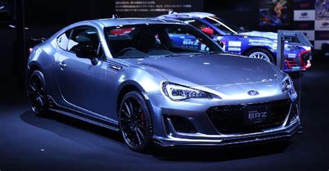 customized cars subaru s customized cars at the 2017 auto salon