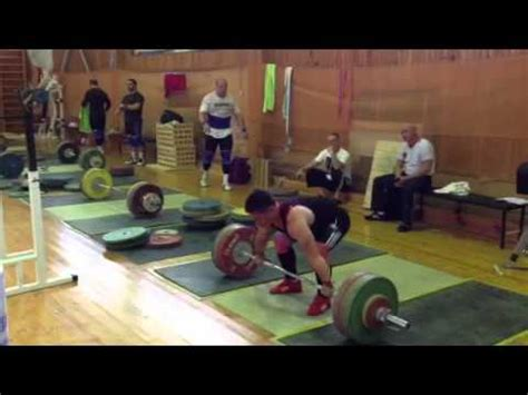 dmitry klokov bench press dmitry klokov deadlift strip set ruslan albegov 205kg