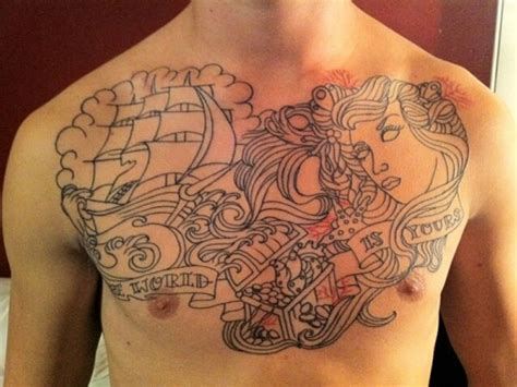 tattoo chest fillers tattoo sleeve filler ideas chest