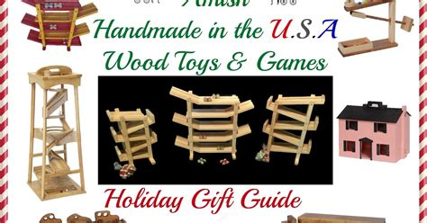 Handcrafted In The Usa - saving shepherd 2017 wood toys gift guide amish