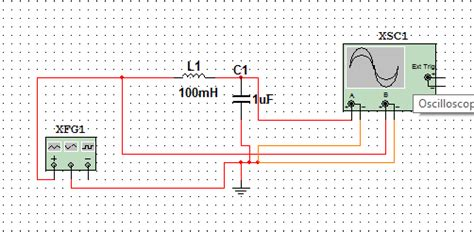 high pass filter oscilloscope capacitor why is series lc circuit not behaving as band pass filter electrical engineering