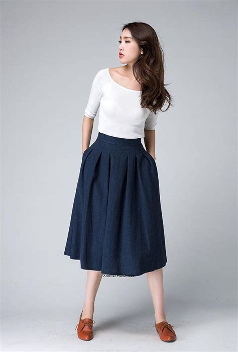 25 best ideas about navy skirt on