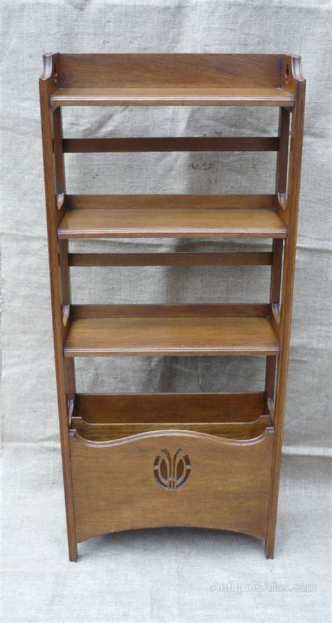 arts and crafts bookcase magazine holder antiques atlas
