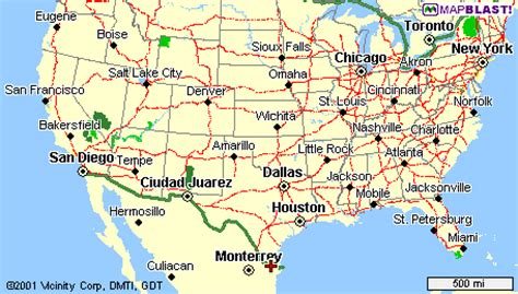 texas border towns map texas trip