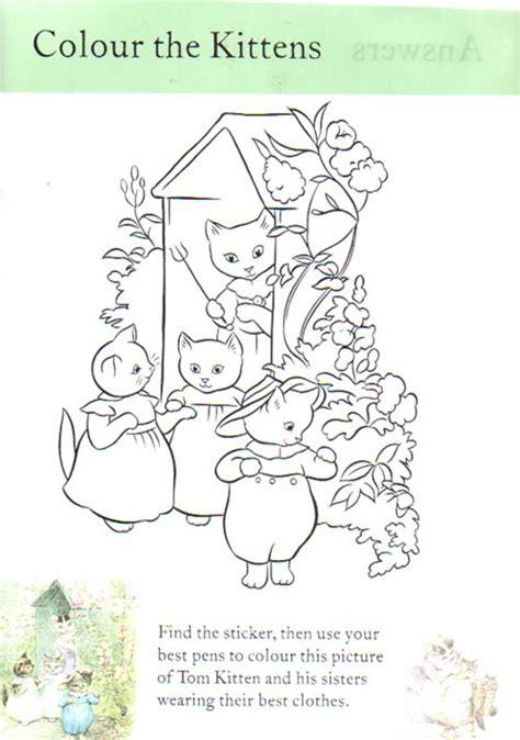 free beatrix potter coloring pages