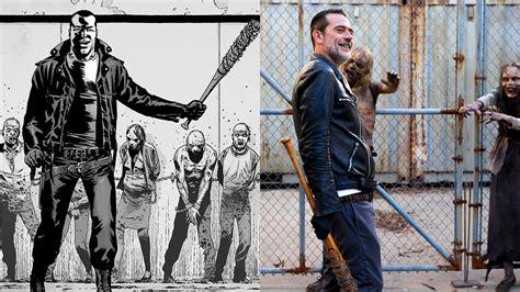 comic vs the walking dead season 8 episode 11 comic vs show