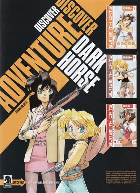 Gun Smith Cats 1 8 End Dan Burst 1 5 End anime throwback ad thursday gunsmith cats