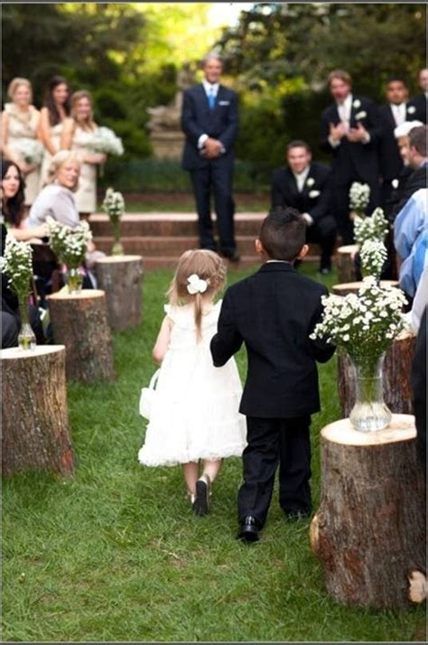 Wedding Aisle Trees by Shabby Chic Wedding Ideas Inspiration Guide Venuelust