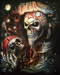 3d piercing pirate skull t shirt pirate mens t shirts