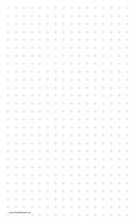 printable dot paper with two dots per inch on legal sized