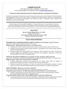 Addiction Therapist Sle Resume by Polsyn Lonnie Resume Substance Abuse