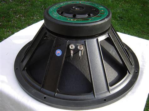 Speaker Eminence 18 eminence kilomax pro 18 image 758494 audiofanzine