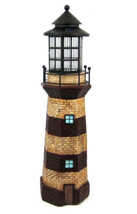 Lighthouse Nautical Garden Light Solar Whyrll Com Lighthouse Solar Light