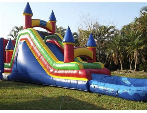 rent a jumper bounce house water slides chairs