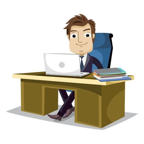 imagenes png oficina hombre de negocios trabajando en la oficina de dibujos