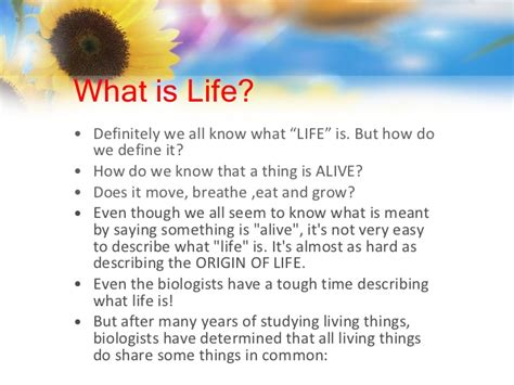 define biography characteristics 9 characteristics of life