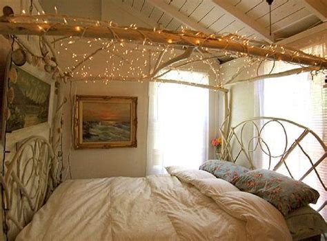 hanging christmas lights in bedroom diy inspirations a canopy bed breakfast with audrey