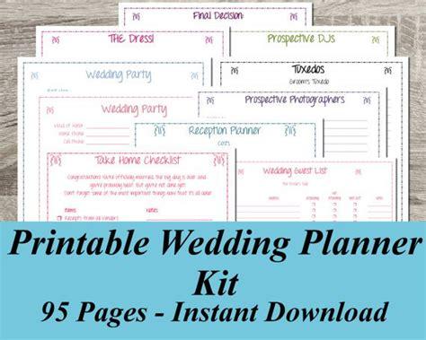 Wedding Planning Workbook Pdf