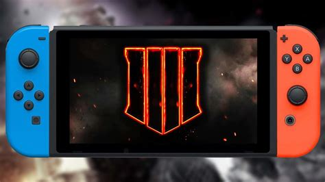 Nintendo Switch Black call of duty black ops 4 nintendo switch version won t be taking place