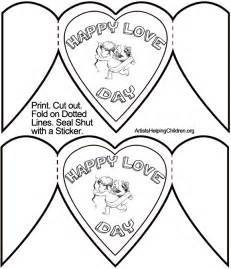 valentines day card templates how to make cupid valentines day cards crafts
