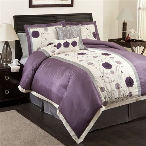 purple queen bed set purple queen size bedding sets spillo caves