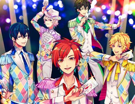 anime idol bandai namco launches male dream festival idol project