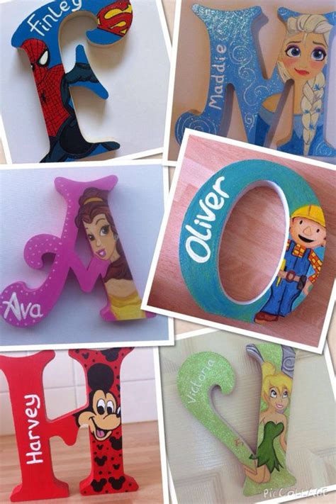 17 best ideas about painting wooden letters on wooden letter crafts painting