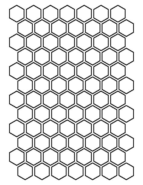 printable tessellations hexagon pictures to pin on 1 inch hexagon pattern use the printable outline for