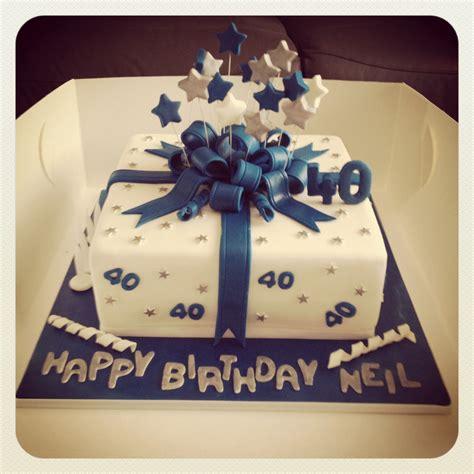 40th Birthday Cakes by 40th Birthday Cake My Cake Creations 40