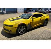 Nifty Rust Wrapped Camaro Is A 1977 Bumblebee Transformers