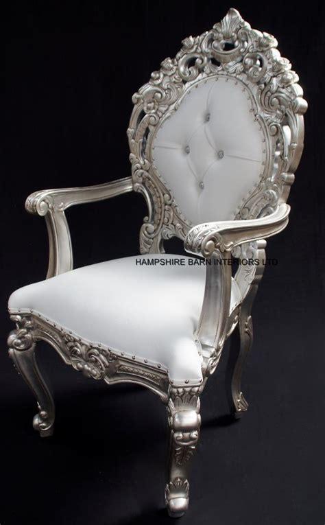 white throne chair armchairs hshire barn interiors part 2