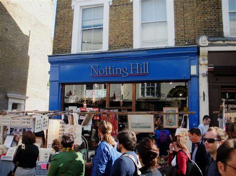 bookstore hill a day in the portobello road market at notting