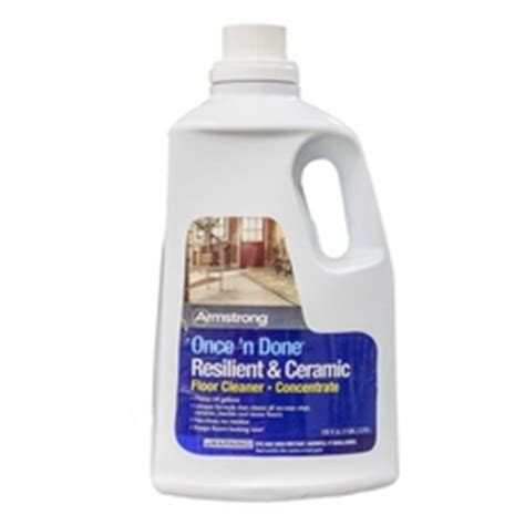 armstrong once n done floor cleaner concentrate 1gal