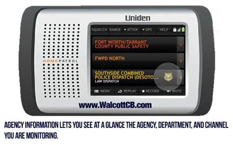 uniden homepatrol 1 digital touchscreen trunk tracking scanner