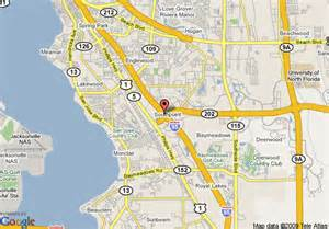 south florida casinos map map of roof inn jacksonville southpoint jacksonville