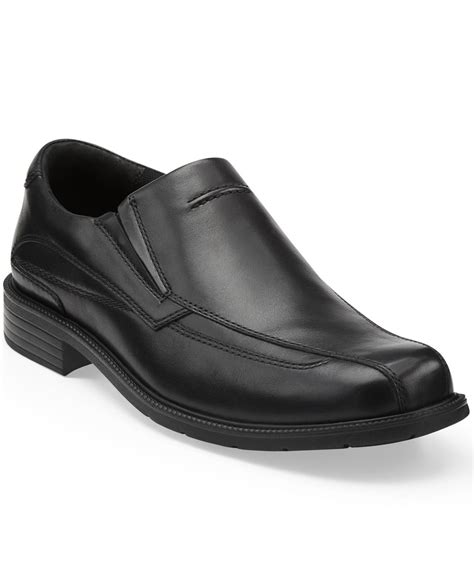 clarks loafers for clarks s medina loafers in black for lyst